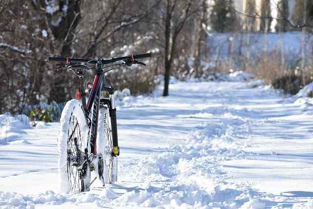 Des conseils pour bien rouler à vélo en hiver !